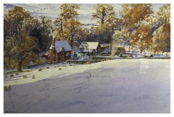 Faulkner, Neil (1952-) Farm at Beech - Trent Art