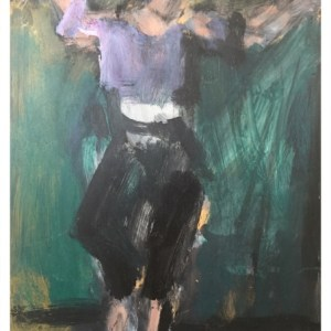 Howard, Ghislaine (1953 – ) Dancer in Black Trousers
