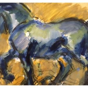 Howard, Ghislaine (1953 – ) San Marco Horse (2017)