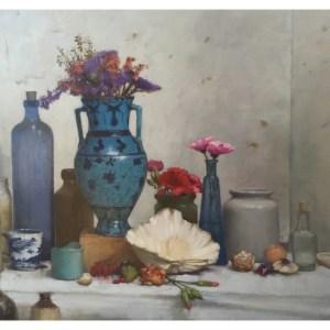 Barlow, Bohuslav (1947-) Blue on Blue Jar