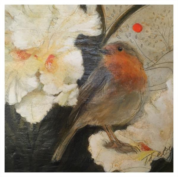 Treby, Janet (1955 - ) Winter Robin - Trent Art