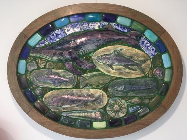 Hardaker, Philip (1954 – ) Oval Seacape - Trent Art