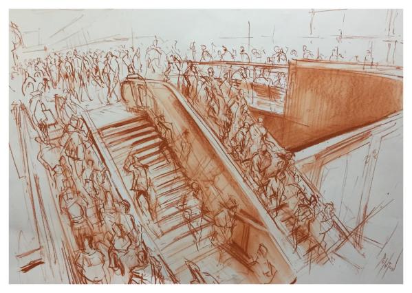 Pointon, Rob (1982 – ) Picadilly Concorse - Trent Art
