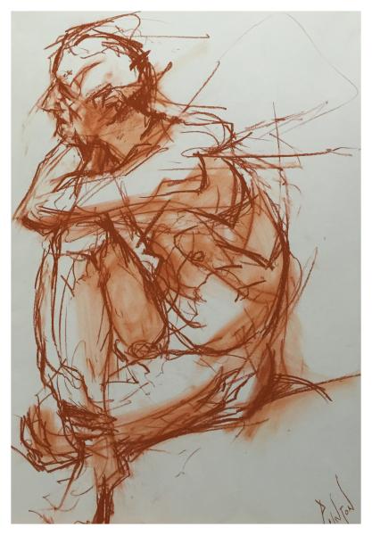 Pointon, Rob (1982 – ) Seated Man - Trent Art