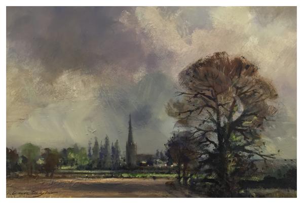 Taylor, Ivan (1946-) Keele Church - Trent Art