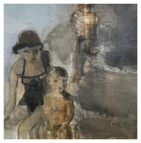 Rigby, Tonie (1955 – ) Where Have The Paddling Pools Gone - Trent Art