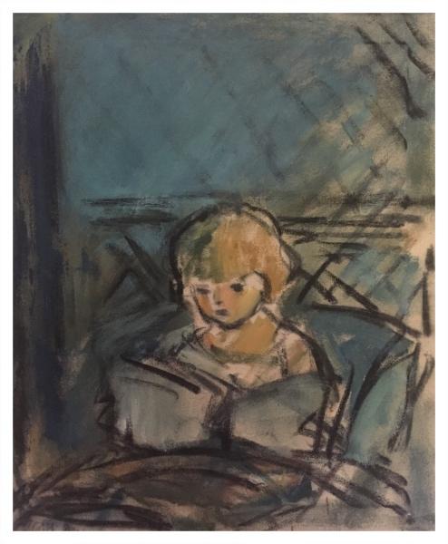 Study in Blue Bedtime Story, Ghislaine Howard