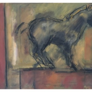 Howard, Ghislaine (1953 – ) Ochre Horse