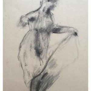 Howard, Ghislaine (1953 – ) Dancing Women, Figure of Movement after Eadweard Muybridge