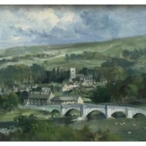 Taylor, Ivan (1946 – ) Burnsall & The River Warfe, Yorkshire