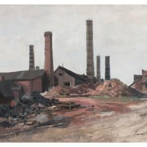 Taylor, Ivan (1946 – ) Old Tile Works, Tunstall