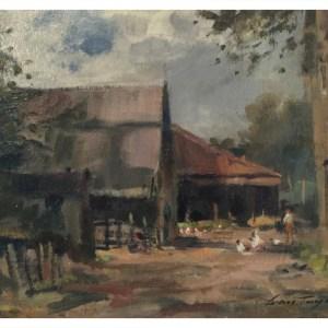 Taylor, Ivan (1946 – ) Staffordshire Farmyard