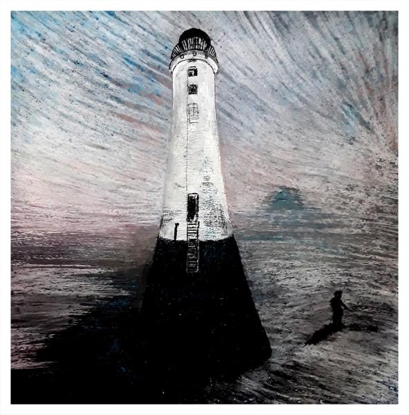 Pearsall, Ian R. (1967 – ) New Dawn, New Brighton - Trent Art