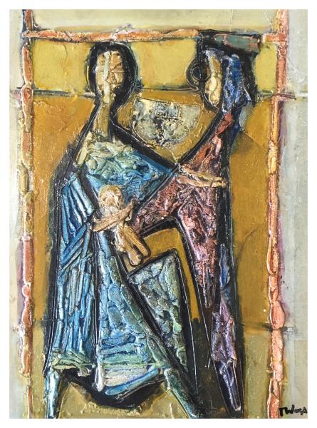 Was, Tadeusz (1912-2005) The Baptism - Trent Art