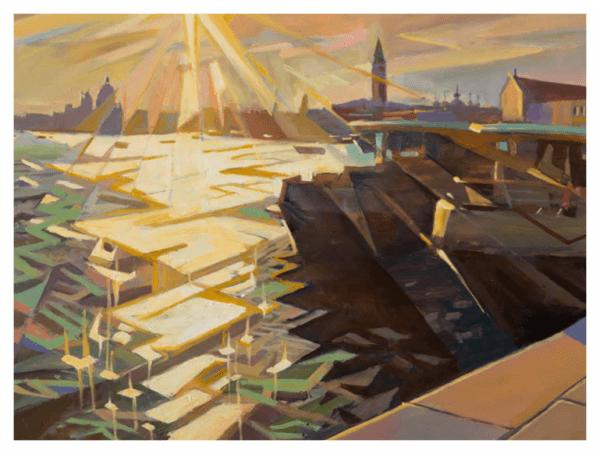 Pointon, Rob (1982-) Splintered Sunset, Venice - Trent Art