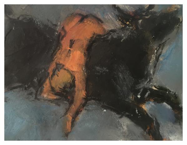 Howard, Ghislaine (1953 – ) Europa and the Bull - Trent Art