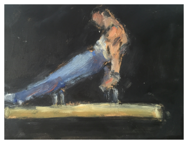 Howard, Ghislaine (1953 – ) Acrobat (365 Series) - Trent Art