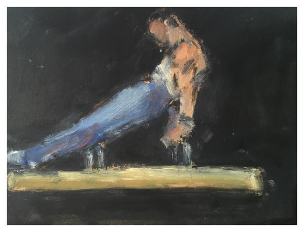 Howard, Ghislaine (1953 – ) Acrobat (365 Series) - Trent Art