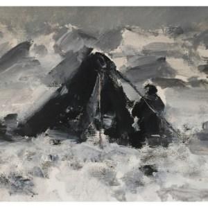 Howard, Ghislaine (1953 – ) After Captain Scott – Dr Wilson on Beardmore Glacier 1912