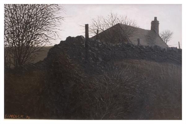 Simcock, Jack (1929-2012) Hedge & Wallscape - Trent Art