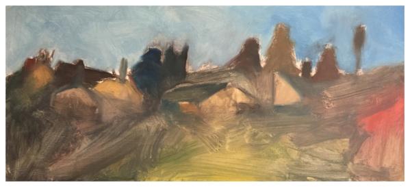 Mood, Ian (1973 – ) Towards St James's Longton - Trent Art