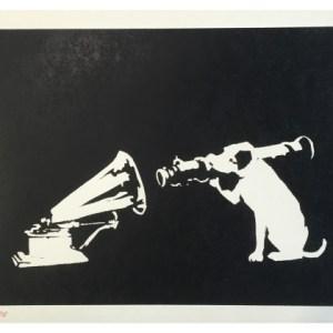 Banksy ( ) HMV His Masters Voice