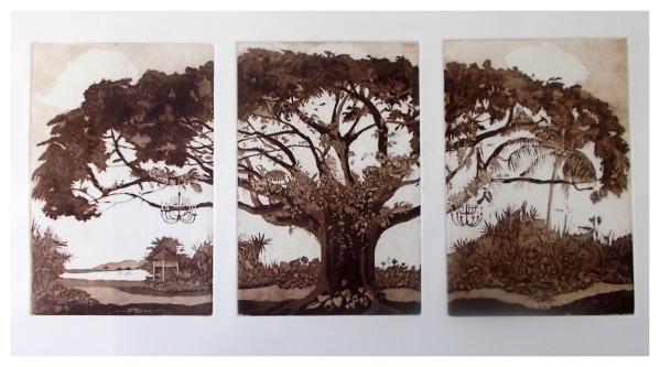 Halsby, Miranda RBA (1948 - ) The Saman Tree - Trent Art