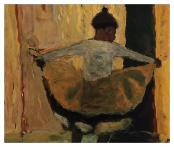 Moore, Bridget SEN.RBA NEAC RWS (1960 - ) Ooh-La_La - Trent Art