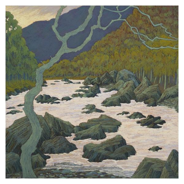 Culver, Cheryl PPPS RBA (1947 - ) Green Valley - Trent Art