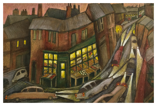 Borsky, Jiri (1945-) Shelton Shops - Trent Art