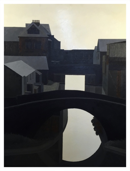 Maurice Wade Two Bridges and Canal (Stoke)