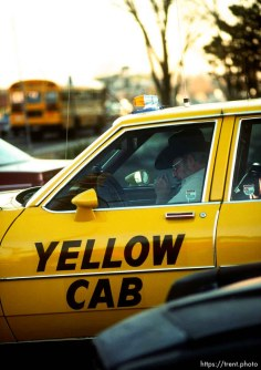 Cabbie, march 1988.