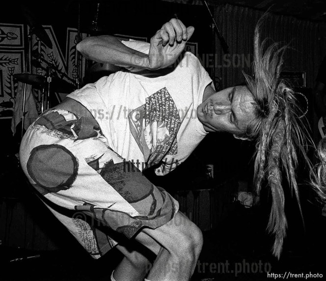 SNFU at the Speedway Cafe.