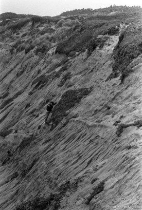 rescue of climber on cliff at Fort Funston.