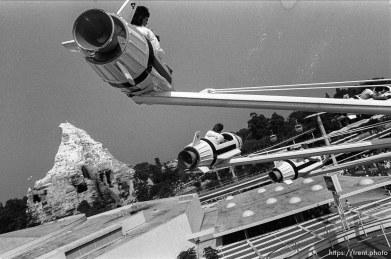 Space Rockets at Disneyland.