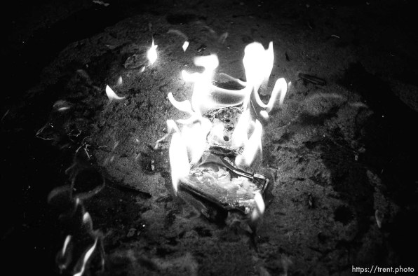 The burning of a G.G. Allin tape