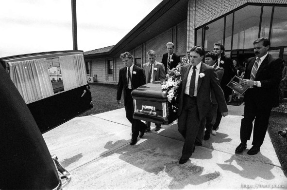 Funeral for Todd Wilson, LDS missionary killed in Bolivia.