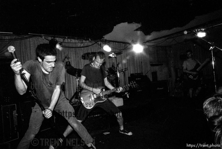 Fugazi at The Speedway Cafe