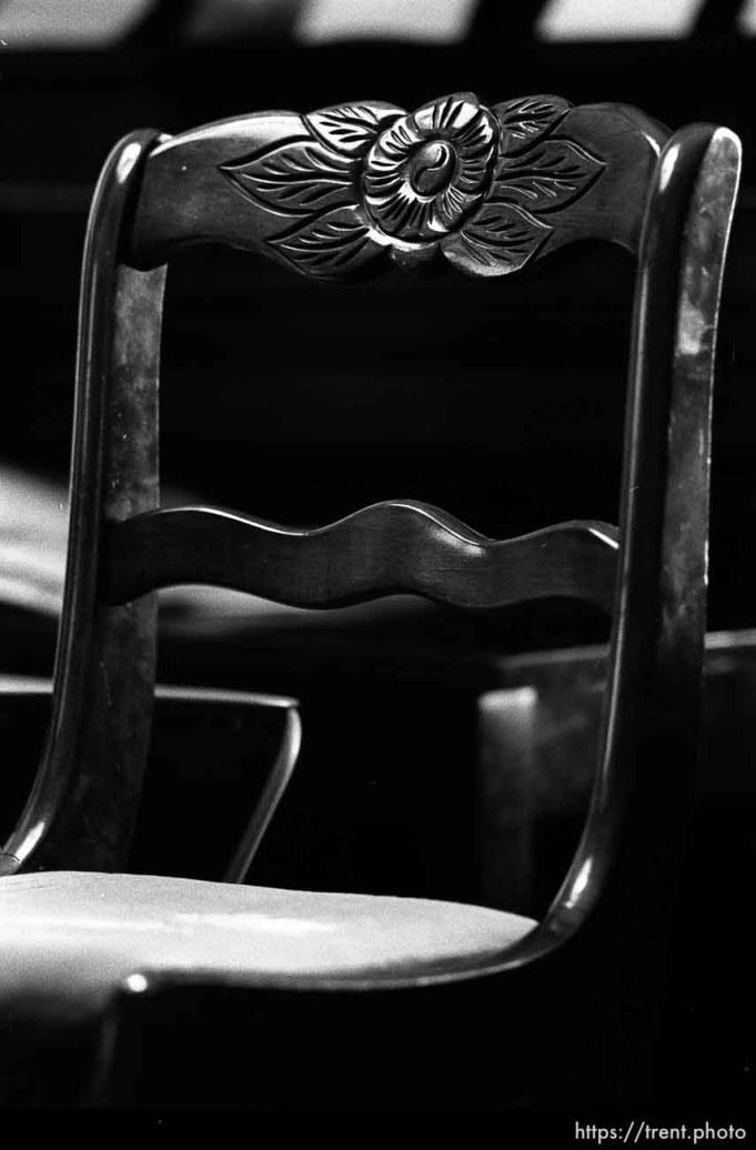 A chair at Nana's house.