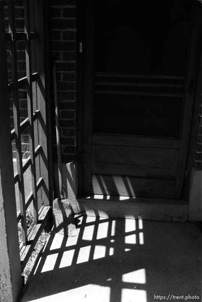 The back door at Nana's house.
