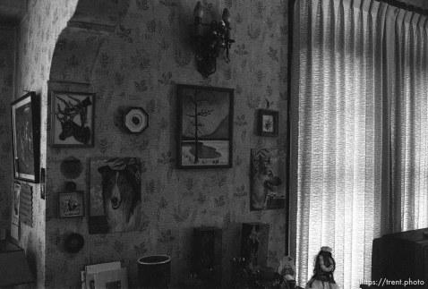 Stuff on the wall at Nana's house.