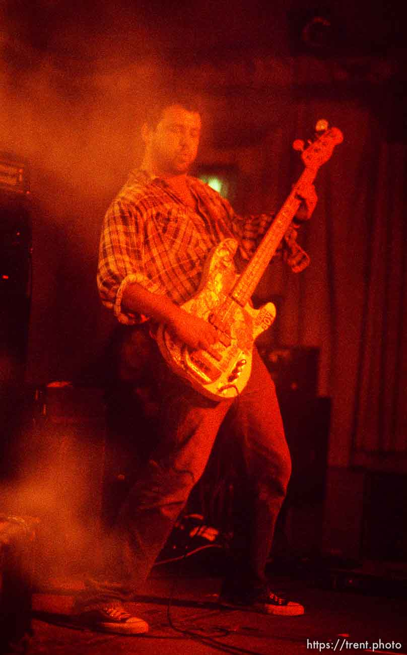 Firehose (Mike Watt) at the Speedway Cafe.