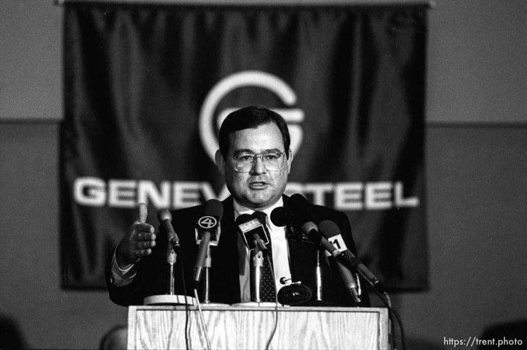 Geneva Steel Press Conference