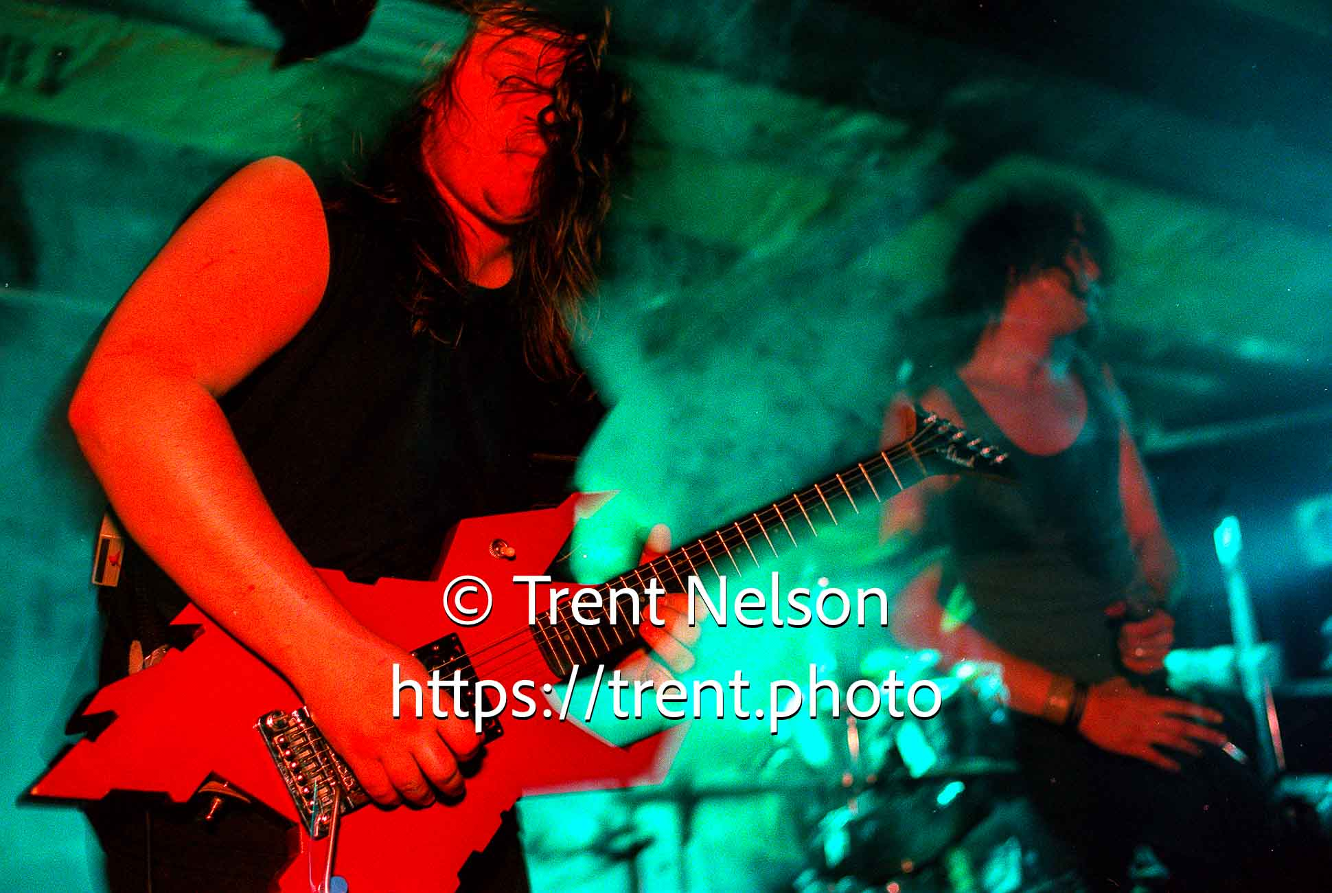 Voivod at the Speedway Cafe.