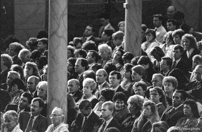 Crowd at LDS General Conference