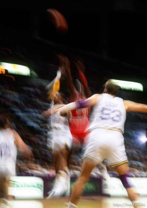 Michael Jordan at Jazz vs. Bulls.