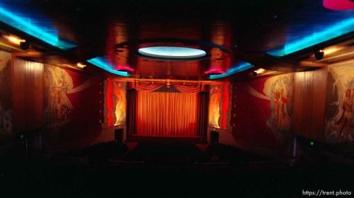 Interiors of Orinda Theater