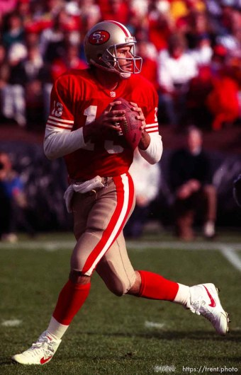 Steve Bono. 49ers vs Saints.