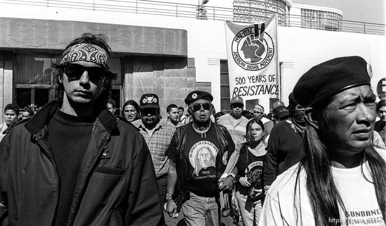 Anti-Christopher Columbus Rally