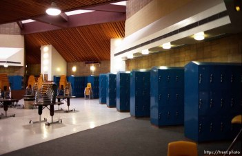 """""""The Commons"""" at Pine Valley Intermediate School."""